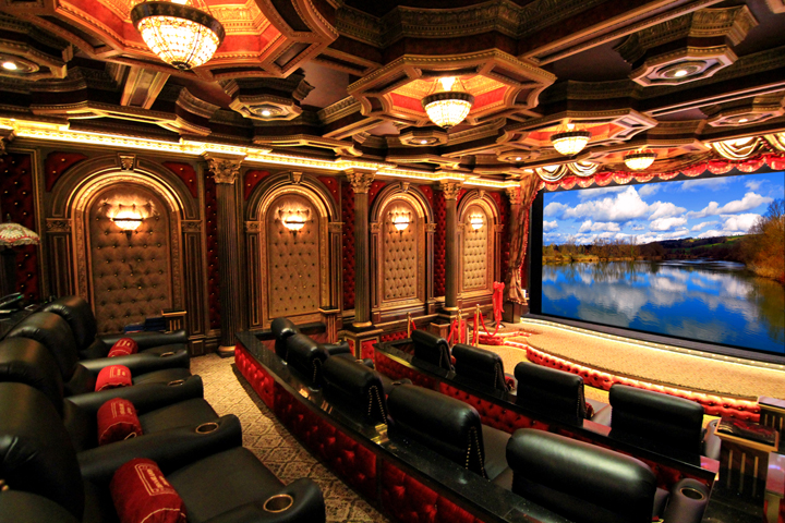 Lampless Projector Helps Owner Realize Life Long Theater Dream Digital Projection Japan Digital Projection Japan