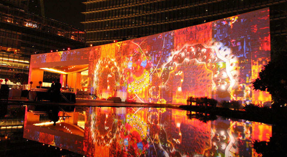 Building Mapping In Dubai Digital Projection Emea Digital Projection Emea