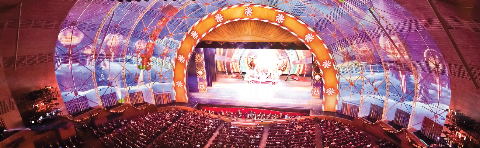 Radio City Music Hall - Digital Projection : Digital Projection